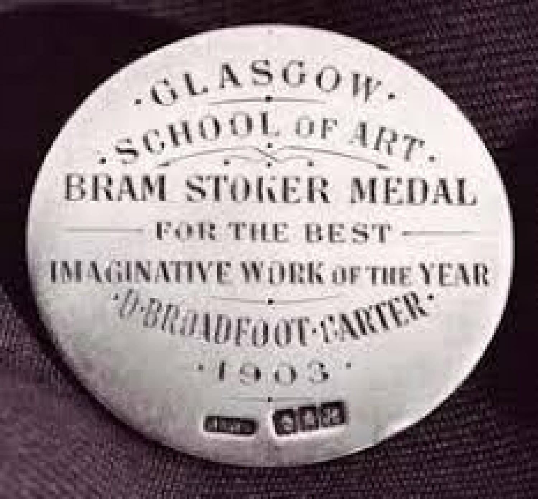 The Glasgow School of Art Bram Stoker Medal