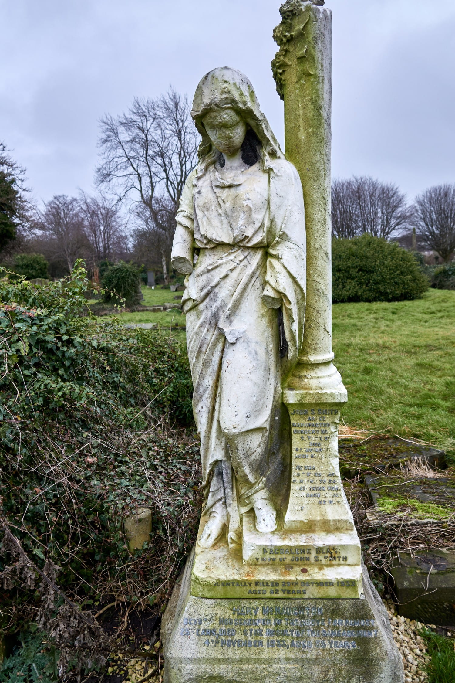 The White Lady. Run round her three tamest avoid being turned to stone! Pictures: Bill Mackintosh