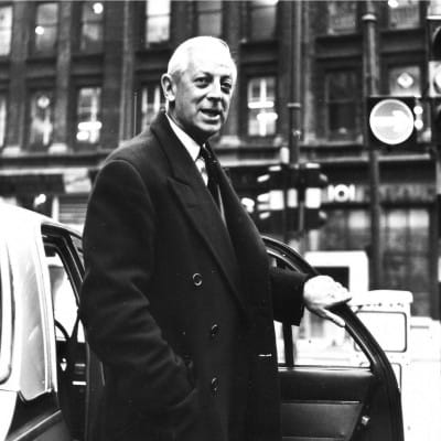 When you go will you send back a letter from America? (Alistair Cooke, Gordon Street, 1967 (Newsquest Media Group))