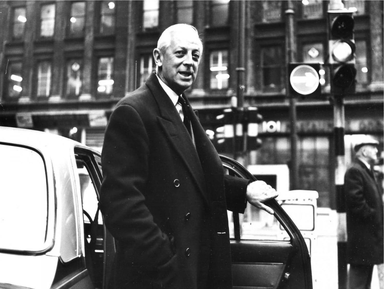 Alistair Cooke, Gordon Street, 1967 (Newsquest Media Group)