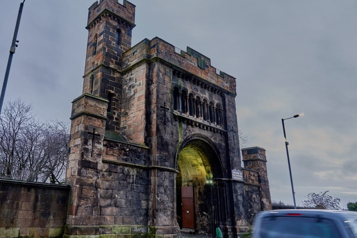 The Gorbals City of the Dead (The entrance to the Necropolis. Pictures: Bill Mackintosh)