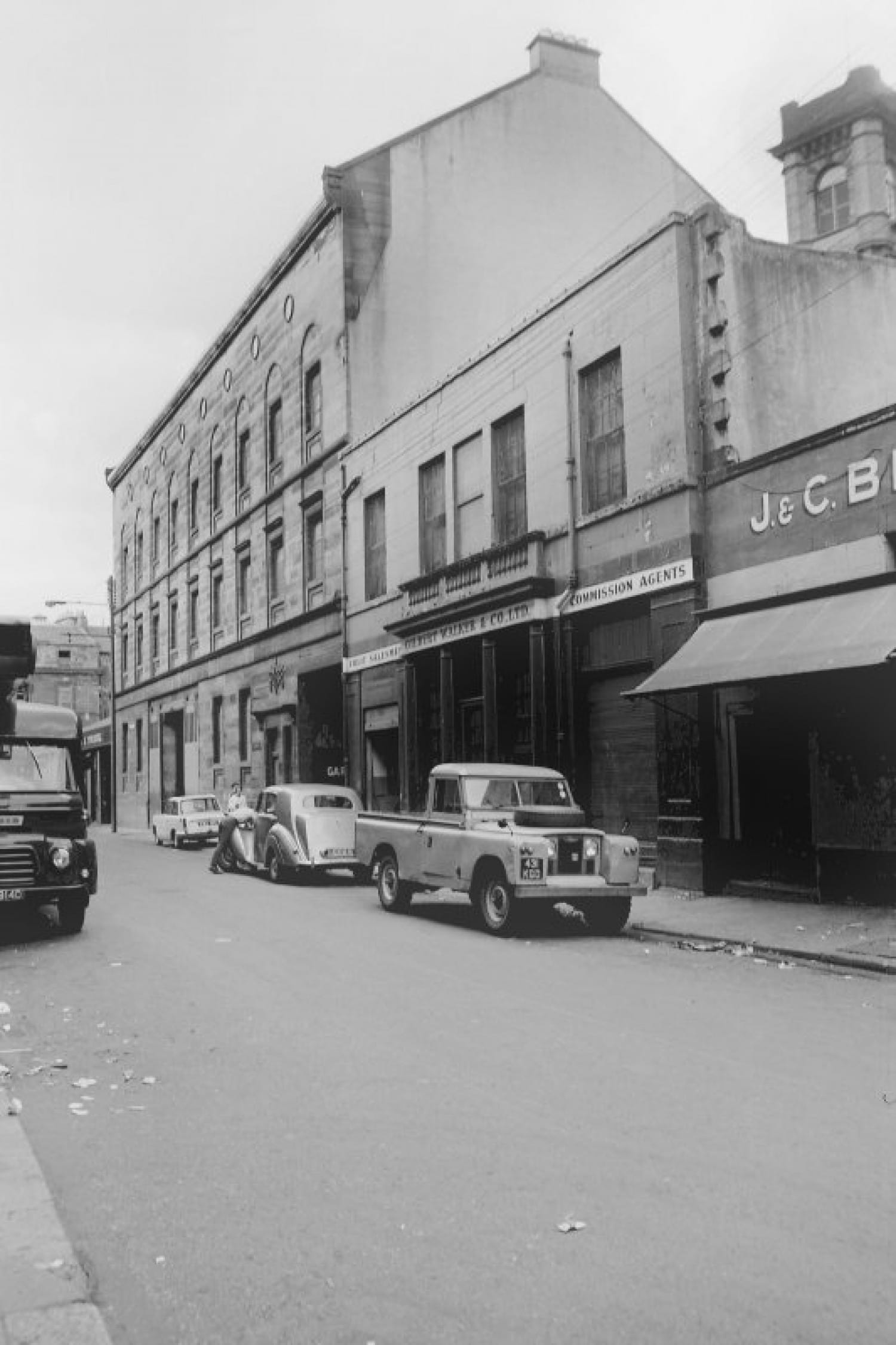 The building in 1968 (John R Hume)