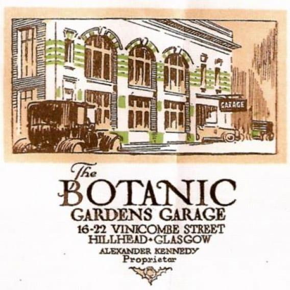 Ka Pao! (An early, colour advert for the Botanic Gardens Garage (Save the Botanic Garage))