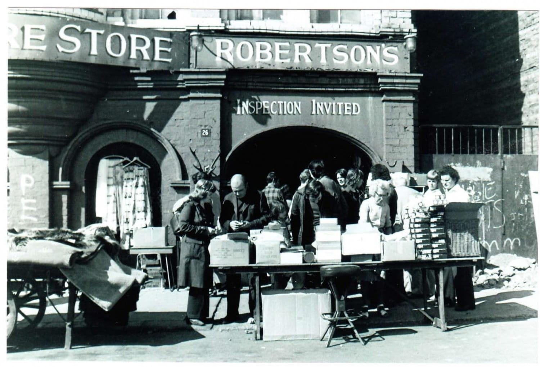 Robertson's Furniture Store, Bain Street.