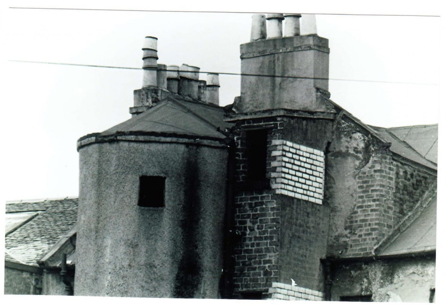 The back of 378 Gallowgate (now the Hielan' Jessie pub).