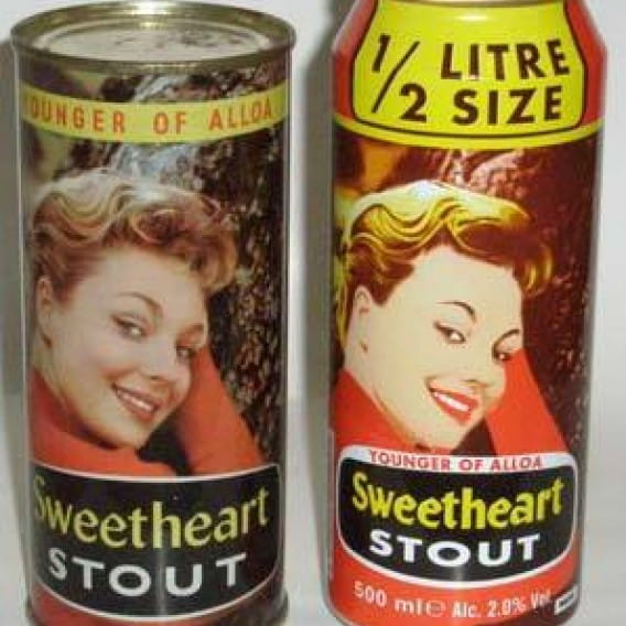 Sweet pint o' mine (Axl's former mother-in-law, Venetia, on the can.)