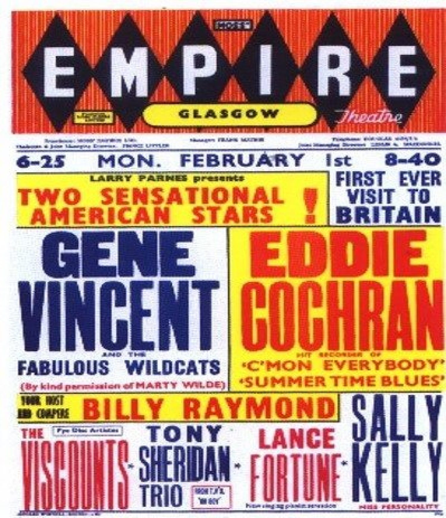 The poster for the Empire shows