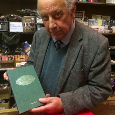 End of an era (Roy Walton RIP, with one of his magic books.)