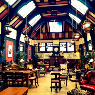 You for coffee? (The magnificent interior of the new Ottoman Coffeehouse (Glasgow Live))