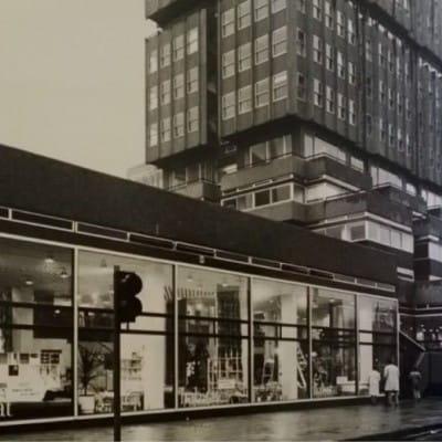 Sofa, so good (Habitat, Bothwell Street, 1970s.)