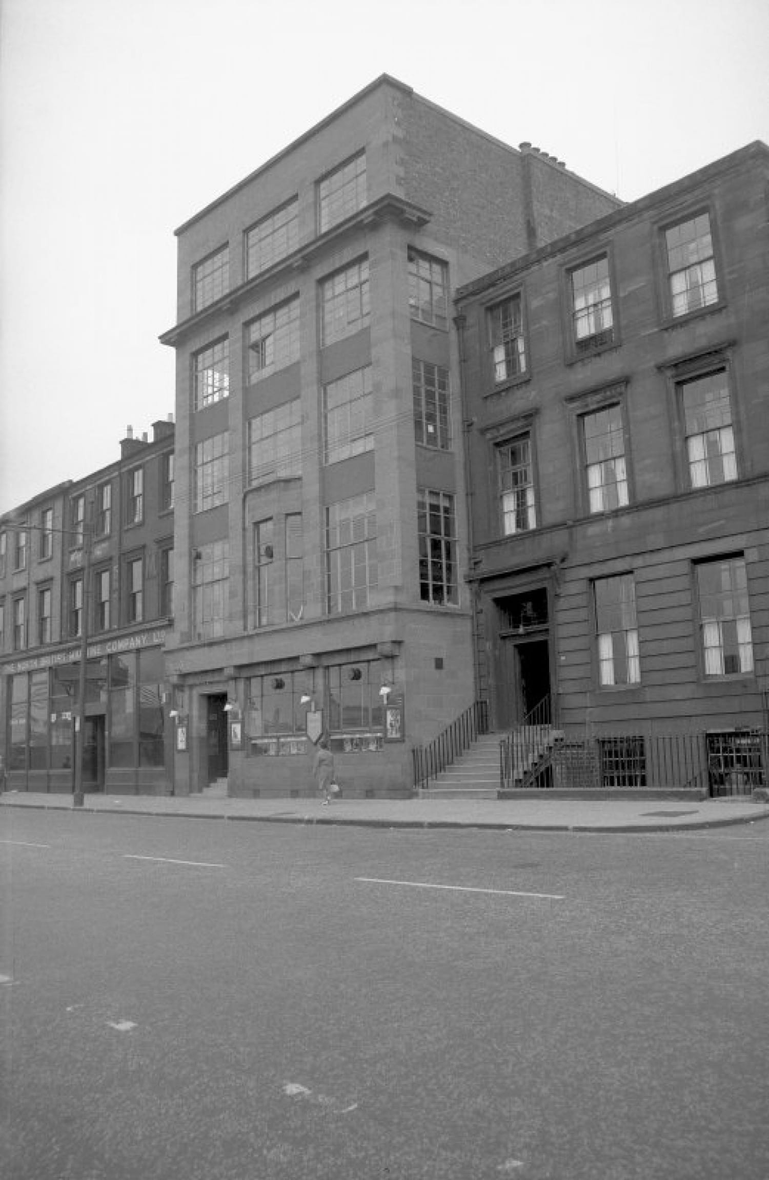 Dubrien House, at 196 Clyde Street, home to Scottish Studios and Engravers Ltd. (Picture: John R Hume)