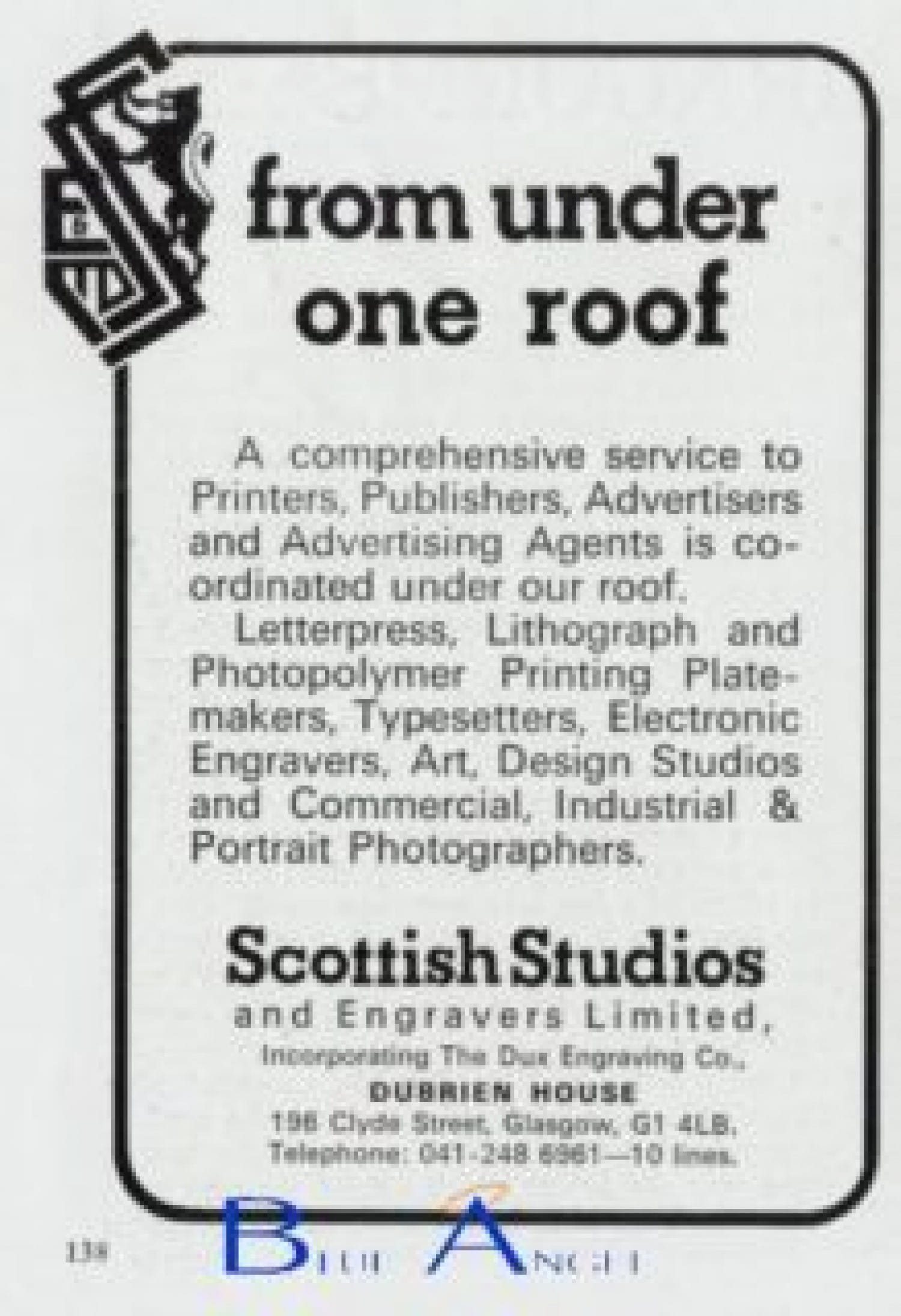 A 1970s advert for the business