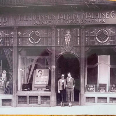 Gran was in the groove (The Johnson Talking Machine Co Ltd, at 135 Renfield Street (Picture: Robert Johnston))