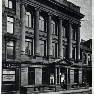 Watt's the story? (The Mechanics' Institute, 38 Bath Street (Picture: Strathclyde University Archives))