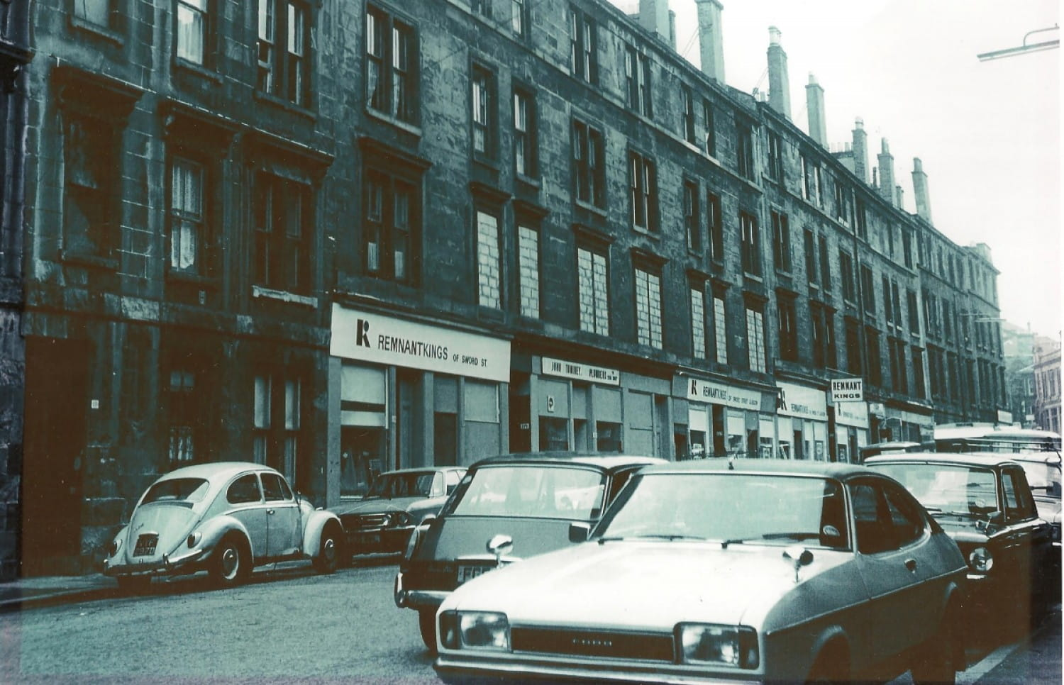 The Sword Street shop, in Dennistoun (Picture: Remnant Kings)