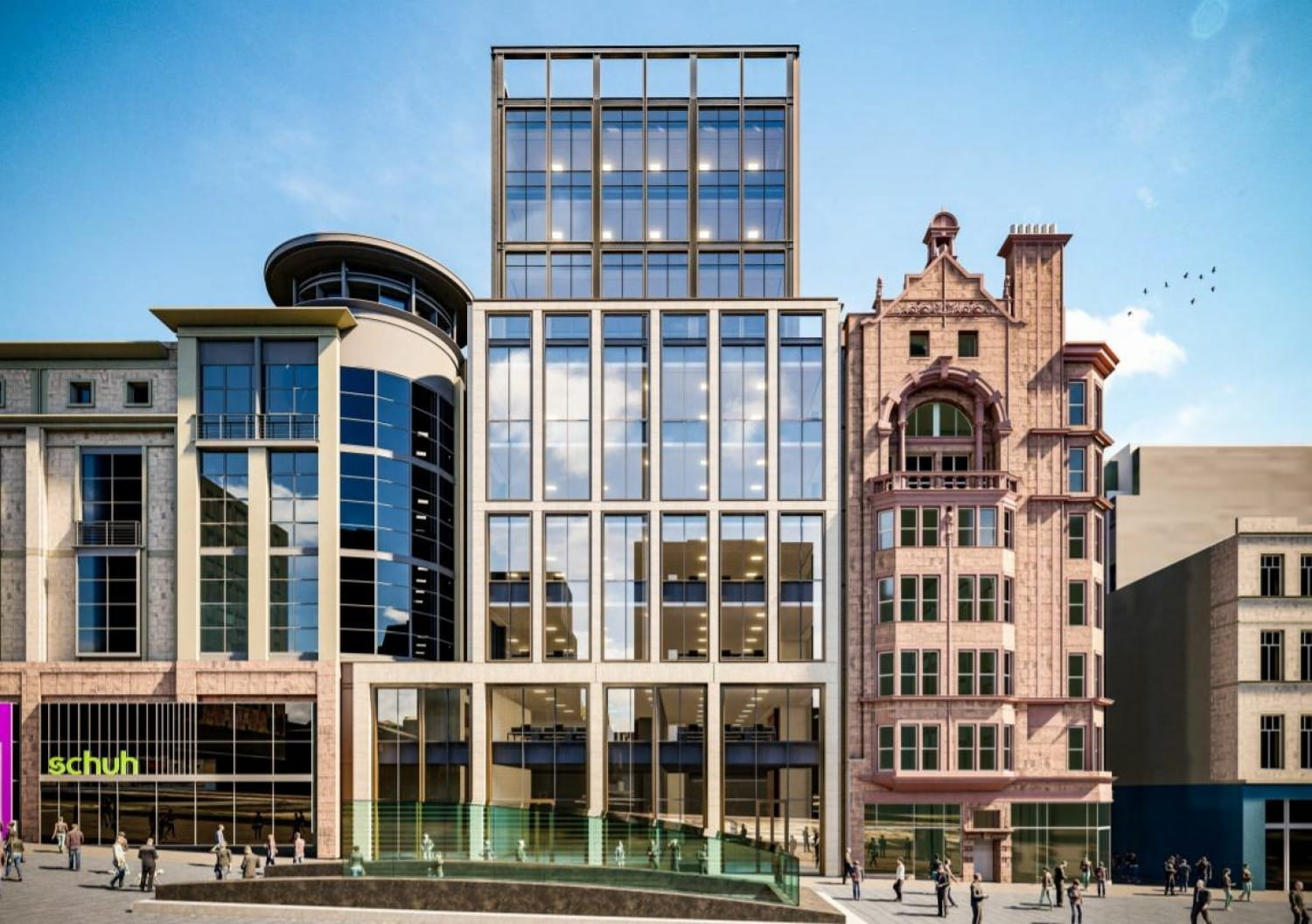 How the planned Buchanan Street elevation will look (Picture: Land Securities)