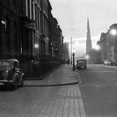 Gallus in daunderland (Looking west down bath Street, 1950s Picture: Hugh Jamieson)