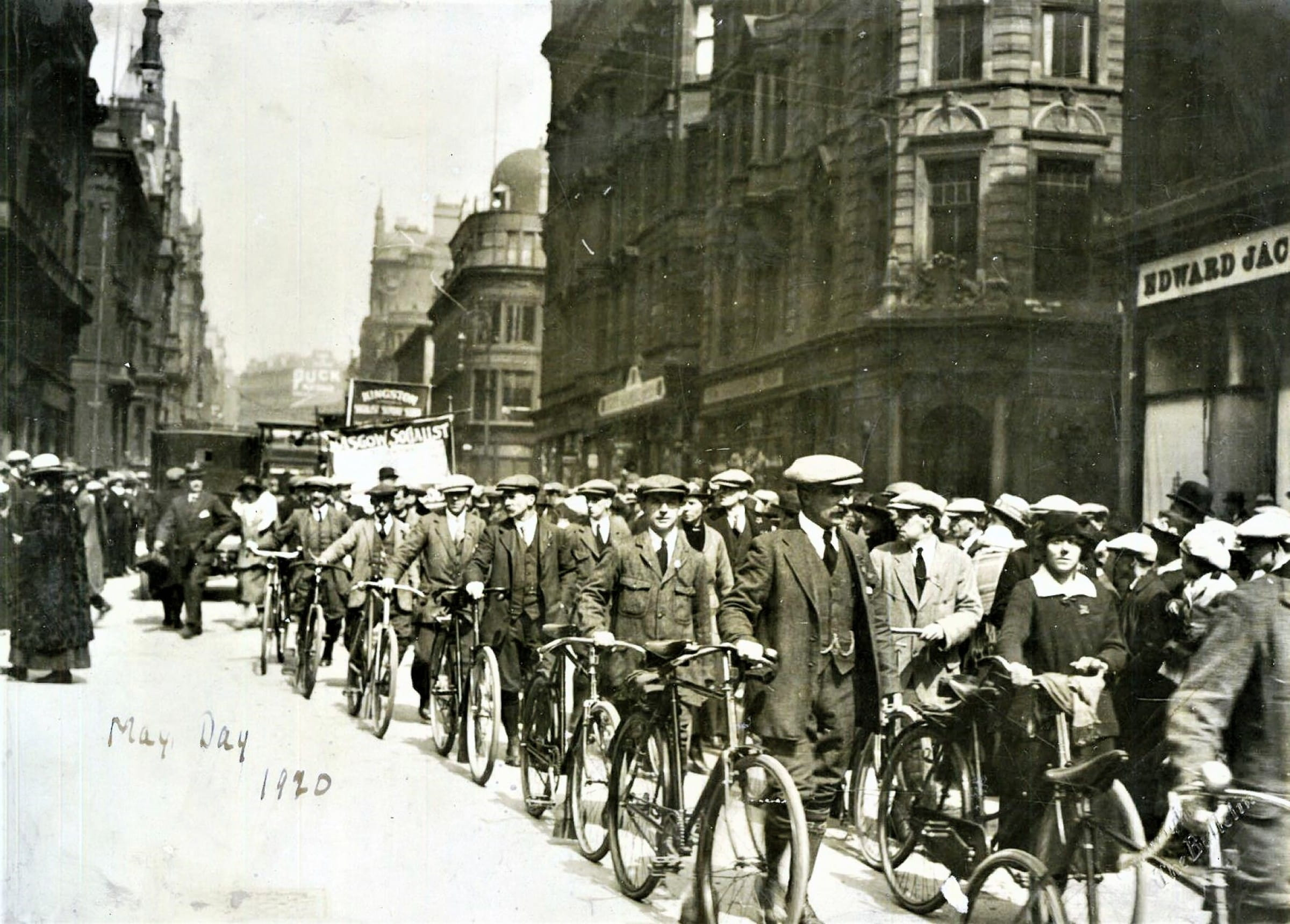 The Clarion call (May Day, 1920, Buchanan Street Picture: Glasgow City Archives)