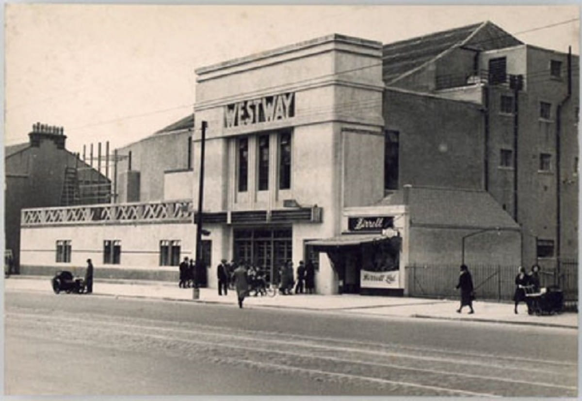Westway to the world (The Westway Cinema, Paisley Road West, Cardonald (National Museums Scotland))
