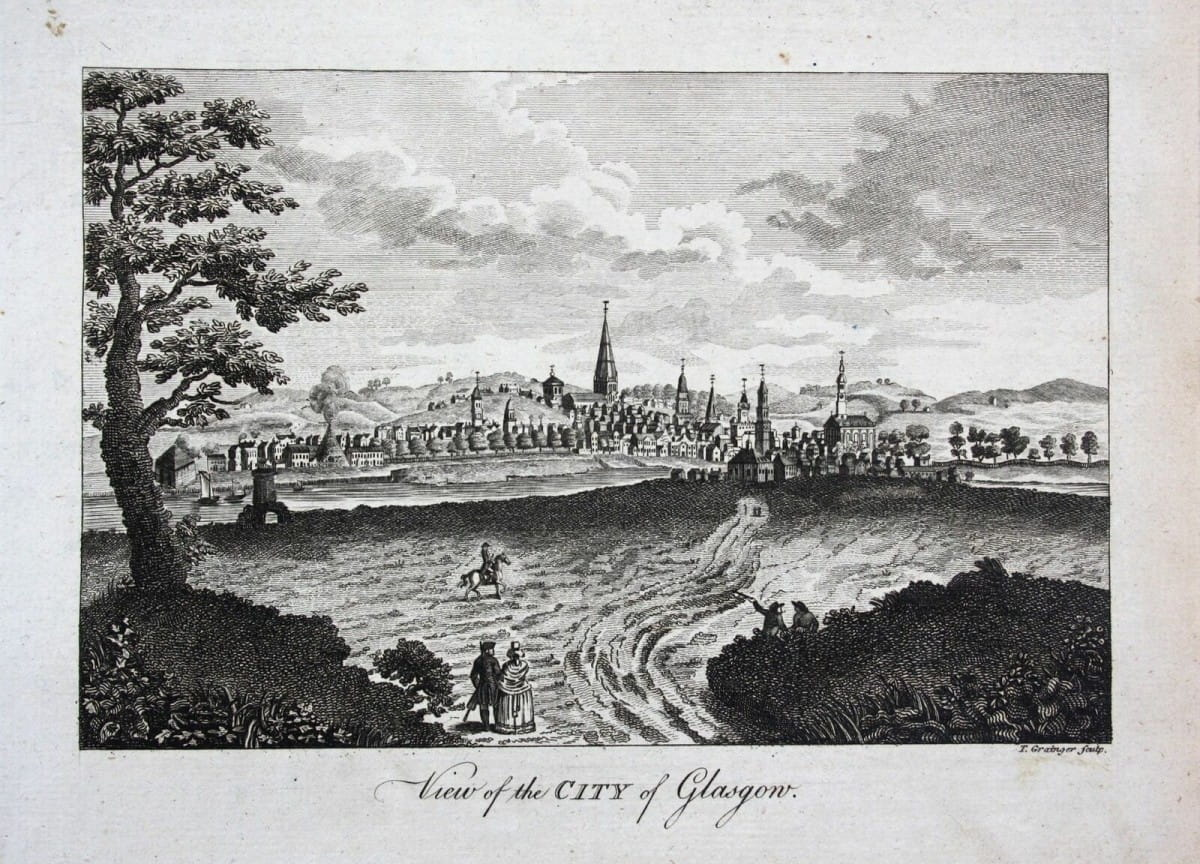 Window on the past (Glasgow from the South, circa 1768)