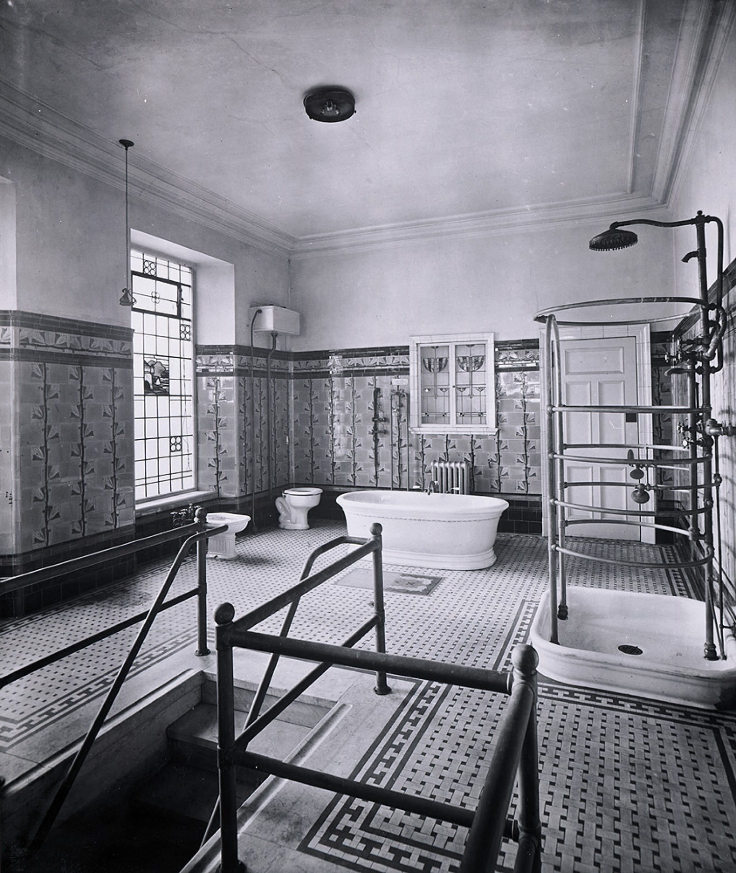 Palatial lavvy, Blythswood Square, early 1900s (Picture: Glasgow Museums)