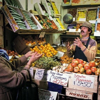 Feeling fruity? (Candleriggs, 1980s (Picture:nDouglas Corrance))