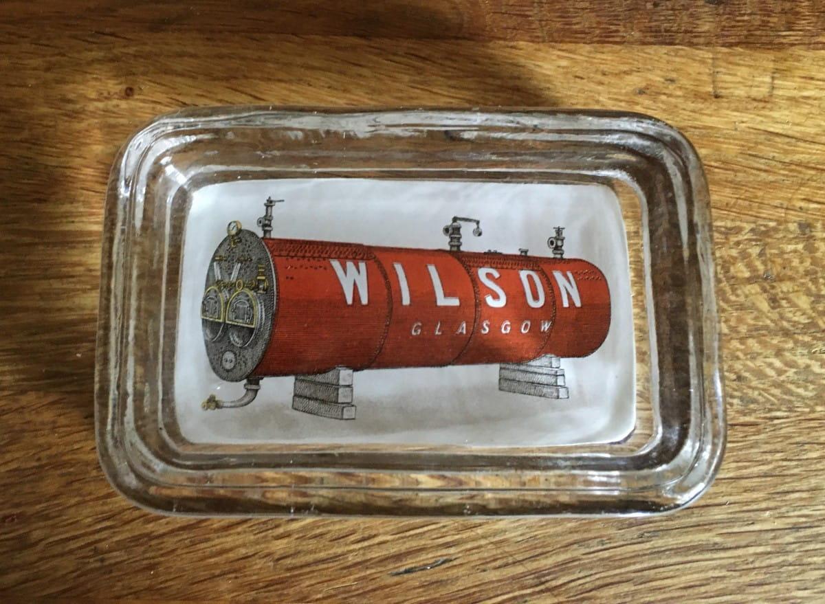 My precious (William Wilson, boilermakers, advertising ashtray.)