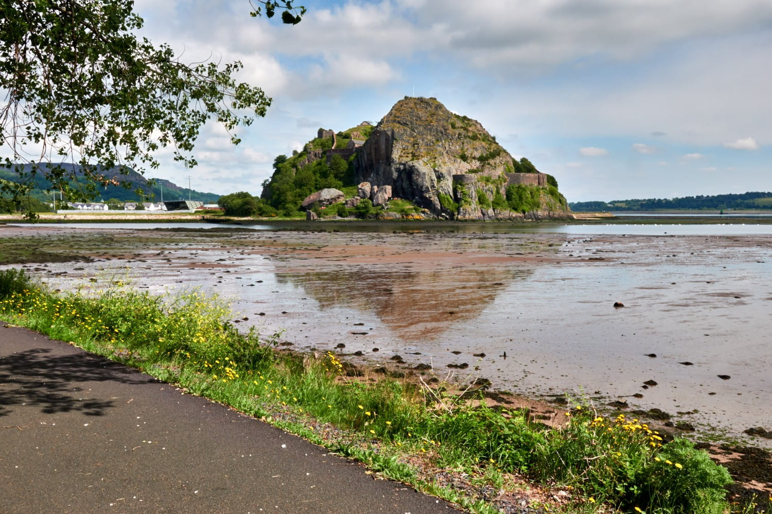 The troops were chased all the way to Dumbarton Castle