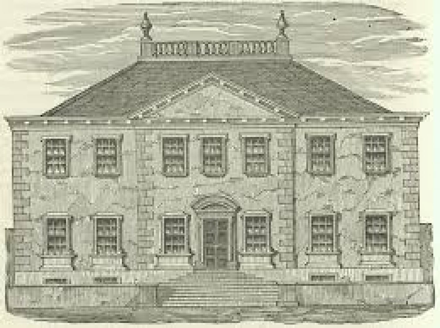 The old Shawfield Mansion on Trongate