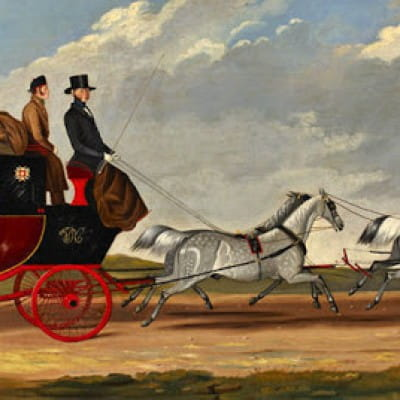 How Glasgow met its Waterloo (The London to Glasgow Mail Coach)