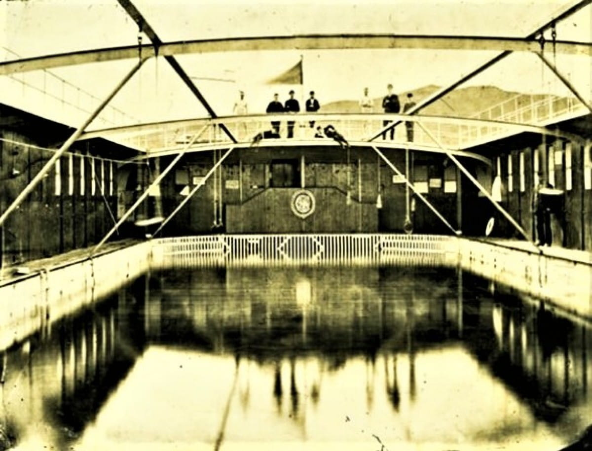 Fancy a dip? (The Clyde Floating Swimming Bath, Greenock (Picture: Inverclyde Council))