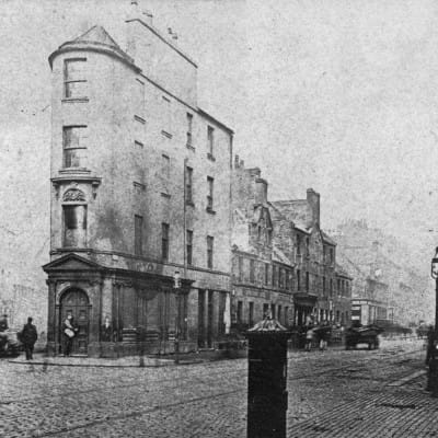 Guess the gushet (Old Gushet House, Anderston, in 1882)