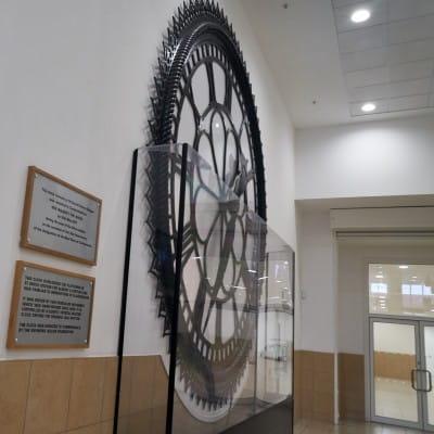 St Enoch Clock Ticks Again