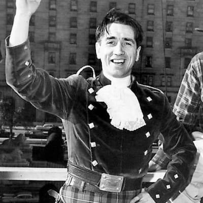 Final curtain (Johnny in his ceilidh days (BBC))