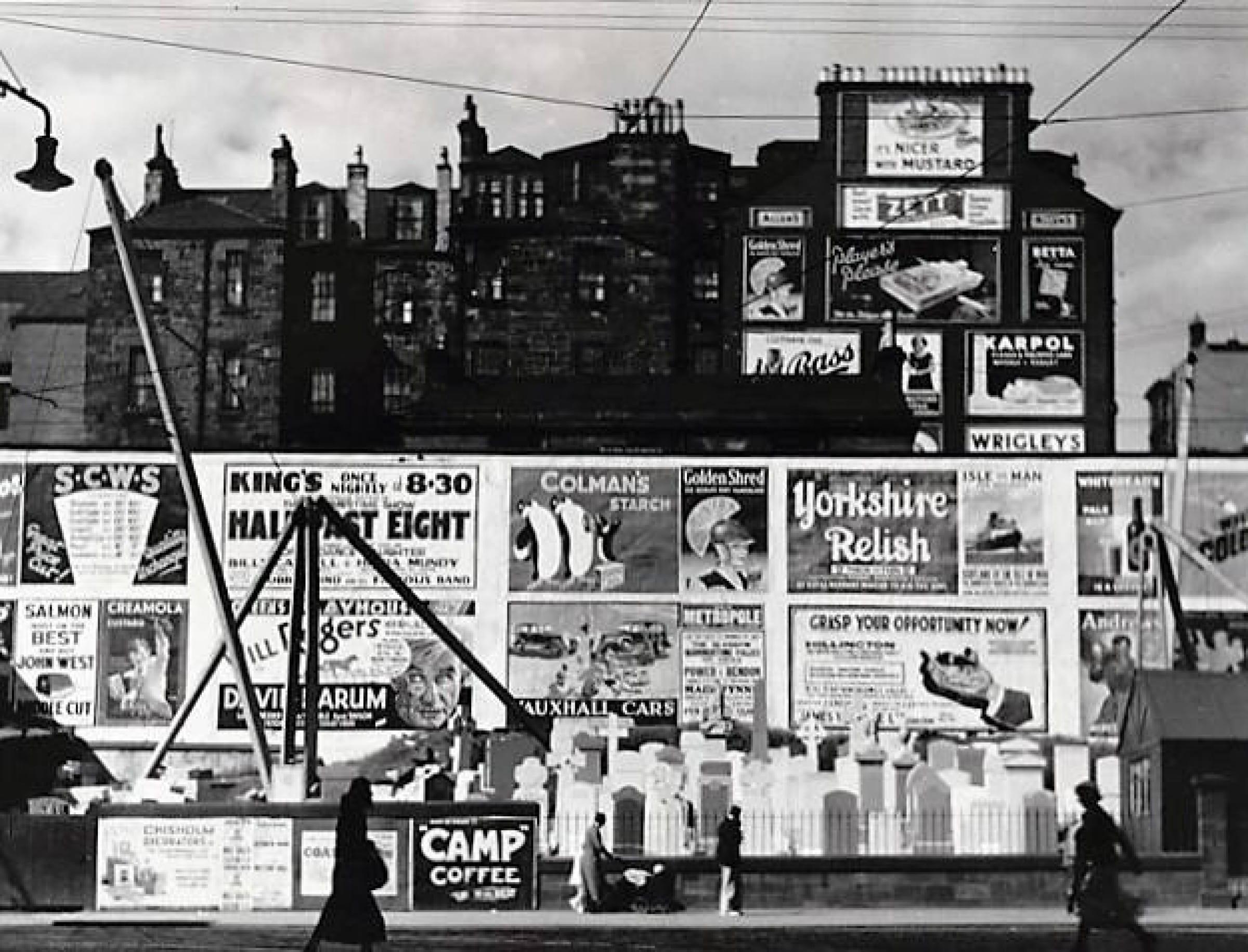 More posters (Sauchiehall Street, 1935, by Margaret Watkins (Hidden Lane Gallery))