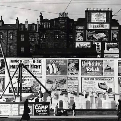 More posters (Sauchiehall Street, 1935, by Margaret Watkins (Hidden Lane Gallery))