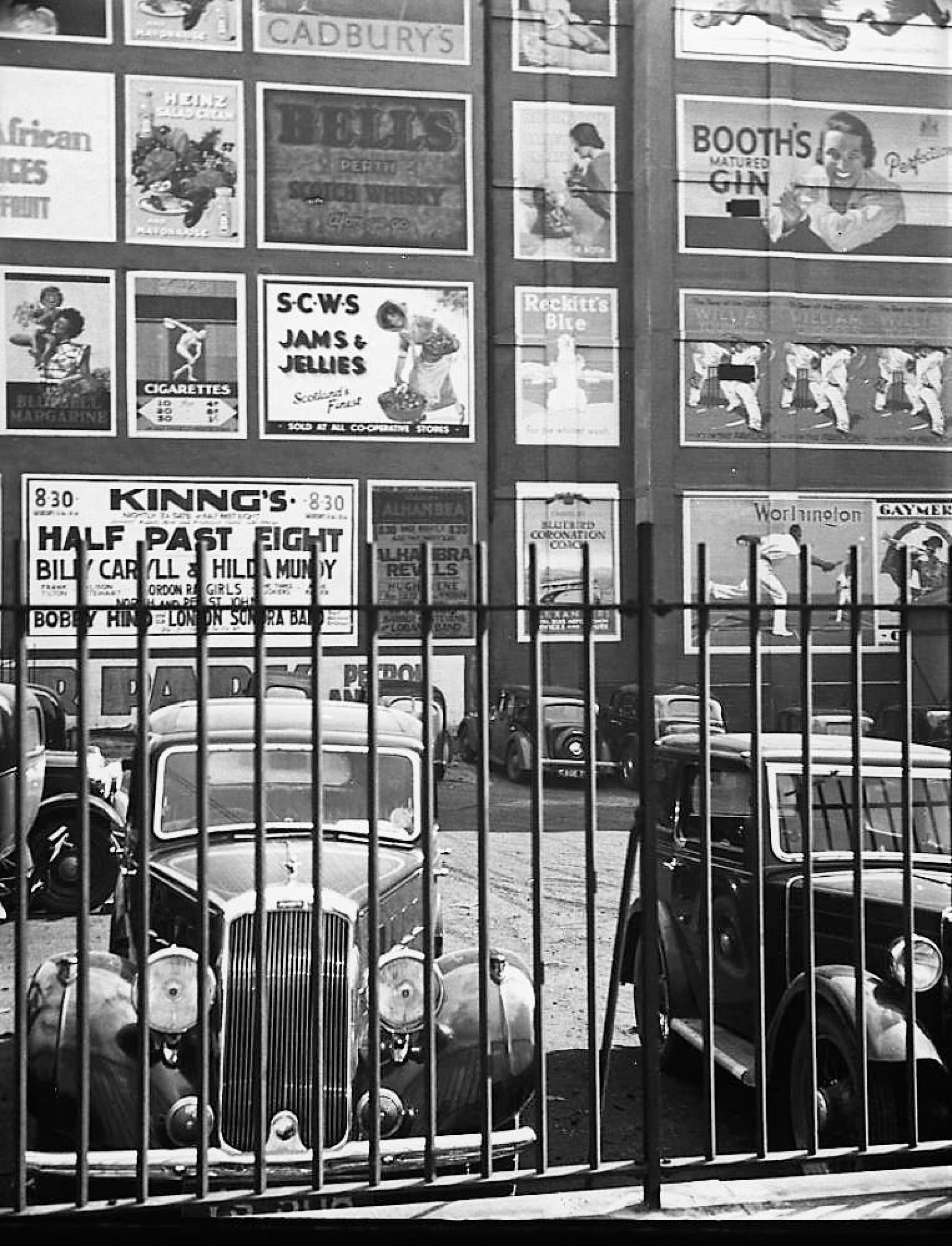 Stick 'em up (again)! (Glasgow car park, 1937 (Picture: unknown))