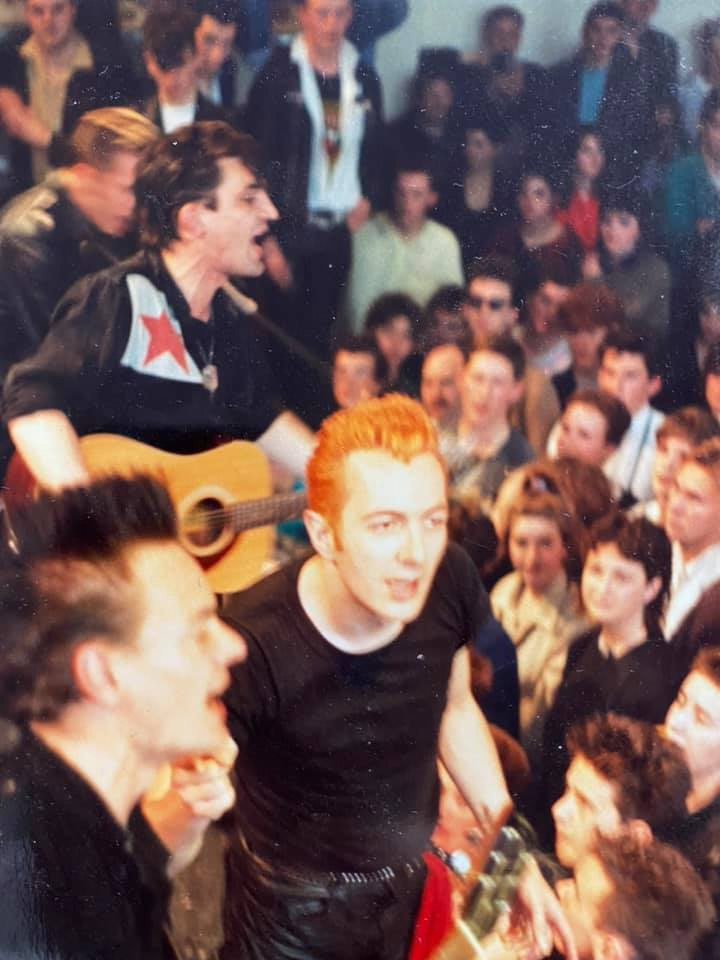 Reeling in the years (The Clash at the GSA, May 1985 (Picture: Ross Sinclair))