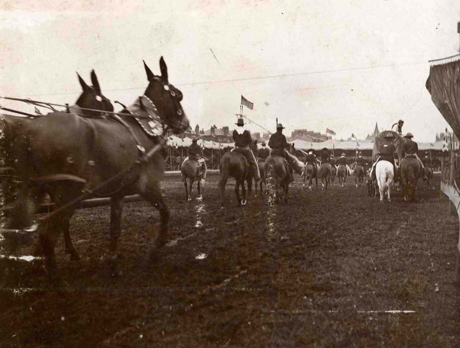 The showground at Crosshill