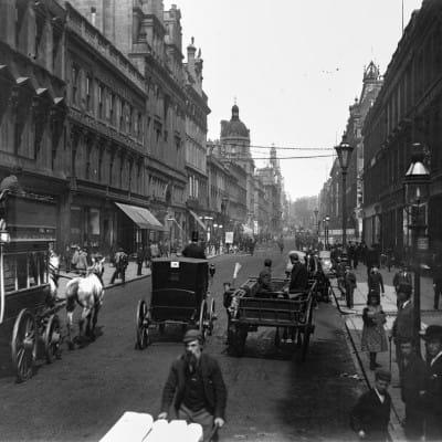 Beauty in Buchanan Street (Buchanan Street, looking north, 1903)