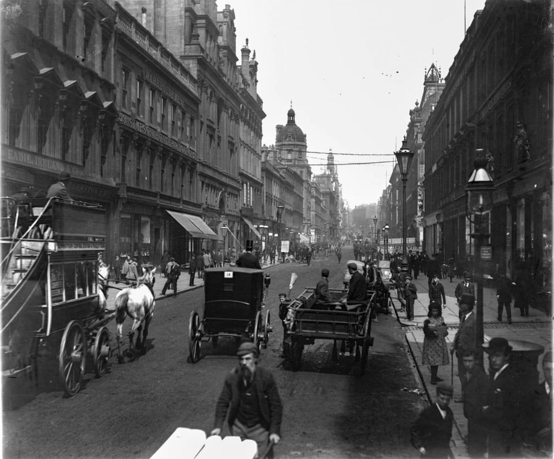 Buchanan Street, looking north, 1903