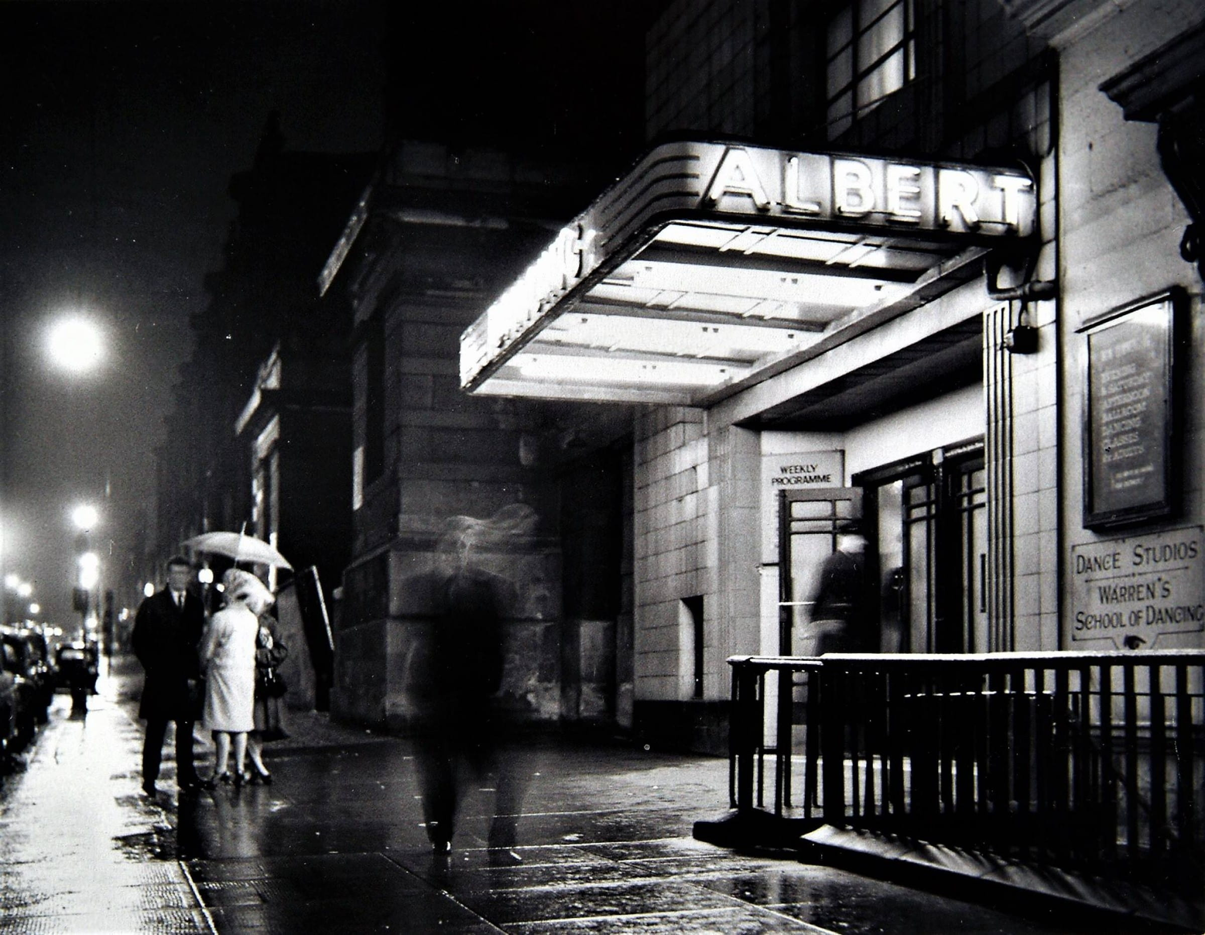 The ghosts of Saturday night... (The Albert Ballroom, Bath Street, 1960s (Newsquest))