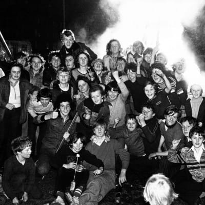 Remember... Remember... (Bonfire night, Glasgow, 1978 (Daily Record))