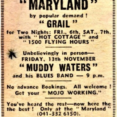 Muddy at The Maryland (Muddy at The Maryland - Friday November 13, 1970)
