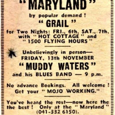 Muddy at The Maryland (Muddy at The Maryland - Friday November 13, 1970)