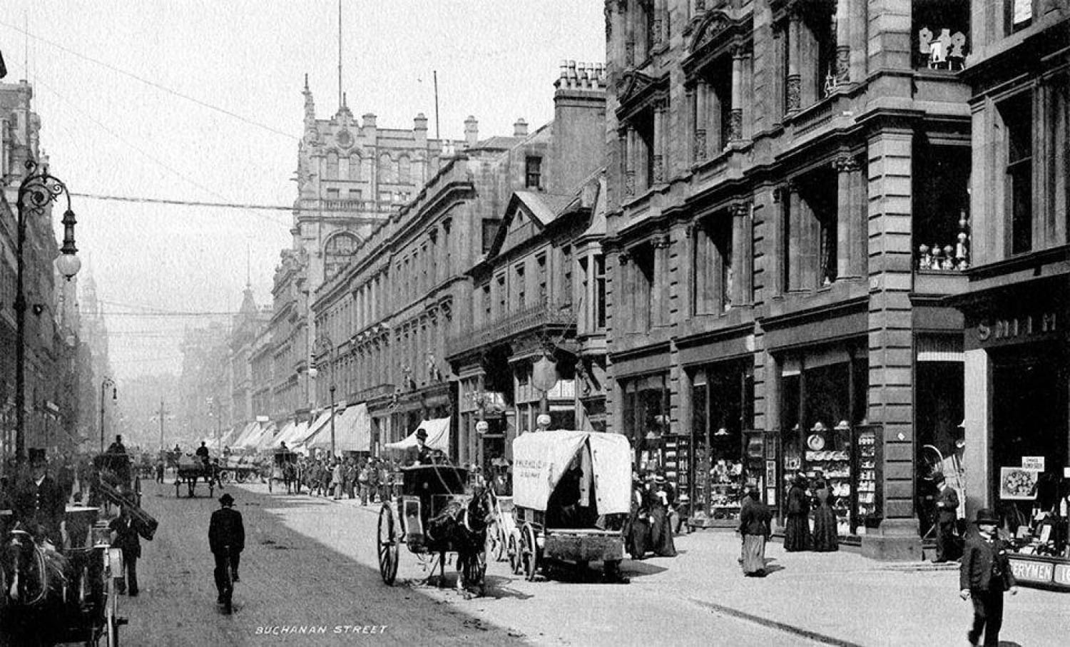 From Peterloo to Argyll Arcade