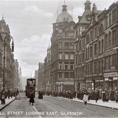 Ye cannae whack yer Glasgow style (Postcard)