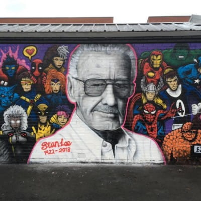 Marvel-Ous Gorbals' Tribute to Stan Lee