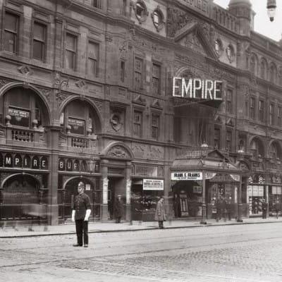 The Empire strikes back... (The Glasgow Empire)