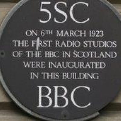 Wireless technology is nothing new (The Plaque at Rex House, 220 Bath Street (BBC))